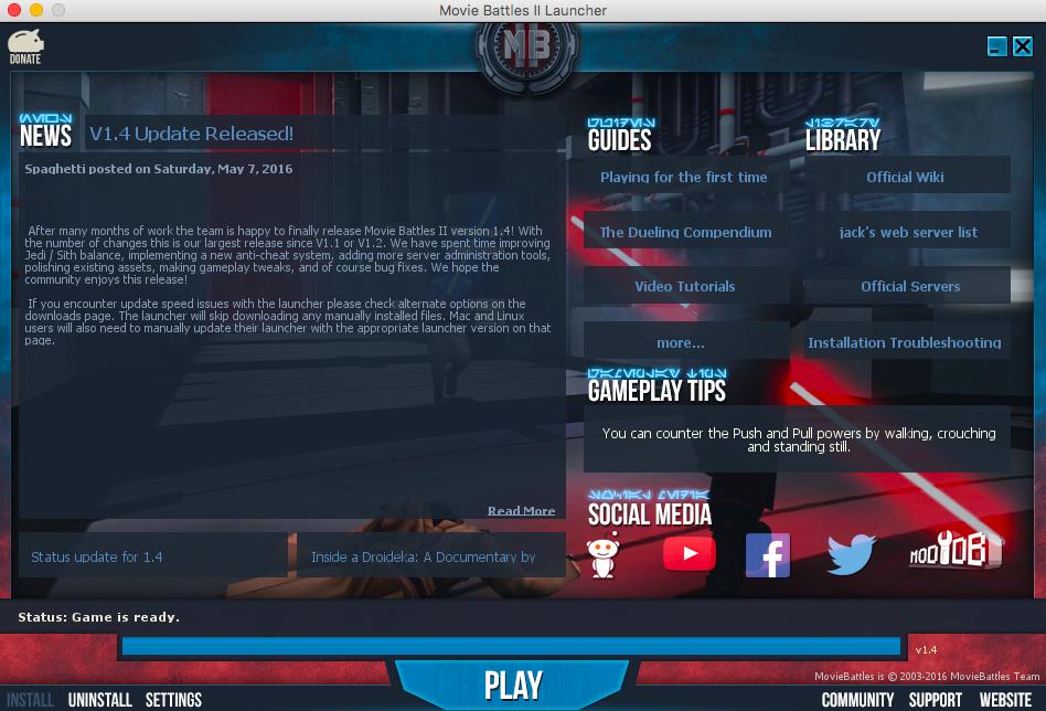 Guide] Mac Installation | Movie Battles II Community