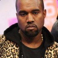 Unamused Kanye